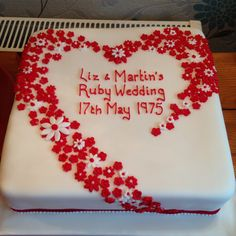 Ruby Wedding Anniversary, Prosecco, Champagne, Cake, Kuchen, Torte, Cookies, Cheeseburger Paradise Pie, Tart