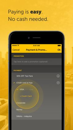Easy - taxi, car, ridesharing by Easy Taxi Servicos Ltda.