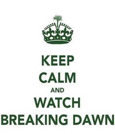 Watch Breaking Dawn