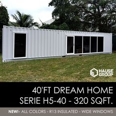 40' FT Shipping Container Home -320 Sqft - Brand New - Made in USA | Business & Industrial, Material Handling, Shipping Containers | eBay!