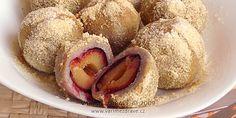 ovocne-knedliky-z-pohanky-e Czech Recipes, Ethnic Recipes, Mashed Potatoes, Czech Food, Sweet Treats, Sweets, Vegetables, Fitness, Whipped Potatoes