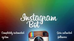 Ücretsiz instagram botu