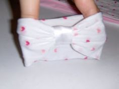 DIY tights/nylon headbands for baby - soft and stretchy
