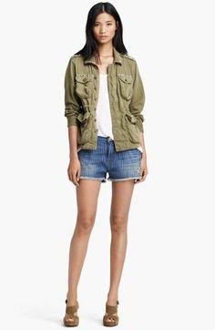 Current/Elliott Jacket & Shorts  available at #Nordstrom