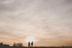 engagement shoot inspiration, silhouettes http://www.samandlouise.co.uk