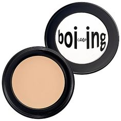 Benefit Boi-ing under eye concealer- Sephora (camouflages dark circles and makes you look awake and ready for a fun night)