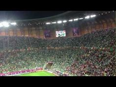 Irish fans sing the Fields of Athenry towards the end of the defeat to Spain in Euro 2012 in Gdansk. Republic of Ireland were eliminated due to the result. Irish Fans, Scottish Music, Euro 2012, Republic Of Ireland, Fields, Singing, Spain, June