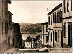 Calle de Playa Ancha, Valparaíso 1935   ---   Im. 029