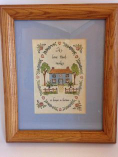 The Five Seasons Calligraphy, Canandaiqua, New York. EBSVintageHome