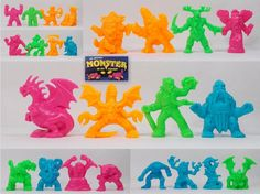Monster In My Pocket - Series 2 - Complete Set Lego Boards, My Pocket, Figs, Ebay, Fig