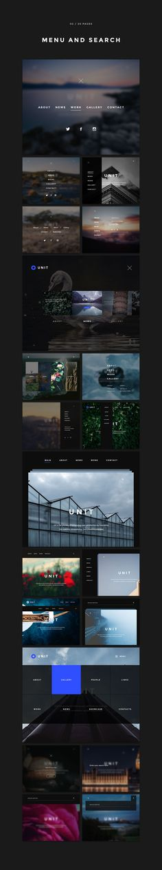 Unit kit, 170 pages, 600+ elements by Spline on @creativemarket