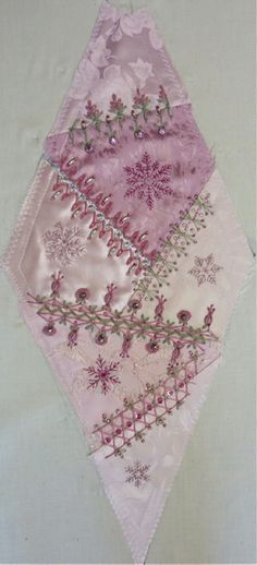 I ❤ crazy quilting, beading & ribbon embroidery . . . Gorgeous May 2012 CQJP Block ~By Susie W