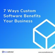 7 Ways Custom Software Benefits Your Business  If you want a competitive edge, choose custom software over an out-of-the-box solution. Your customers (and bottom line) will thank you. In this article we explore 7 custom software benefits that can take your online business performance to the next level.  User experience determines the success of every website and app. Design plays a role, but what really drives great UX is the software behind it.   #amazon #amazonmwsdeveloper #amamzonmws Track Shipment, Warehouse Management, Amazon Advertising, Ecommerce Software, Amazon Fulfillment Center, Business Performance, Supply Chain Management, Amazon Seller, User Experience