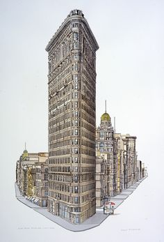 Flat Iron Building - New York