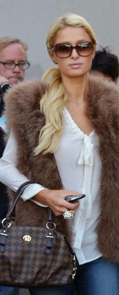Paris Hilton and Louis Vuitton #Luxurydotcom