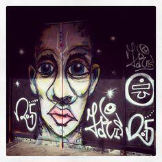 Graphite in St Georges Walk Croydon