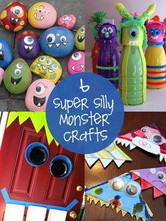 Marvelous Monster Crafts   creative gift ideas   Halloween Goodies
