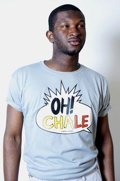 Oh Chale! #Ghana http://shop.kayobiclothing.com/product/oh-chale-blue