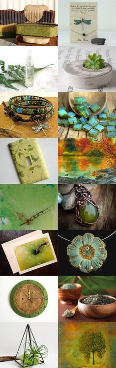 The Green Earth by Robyn Martins on Etsy--Pinned with TreasuryPin.com