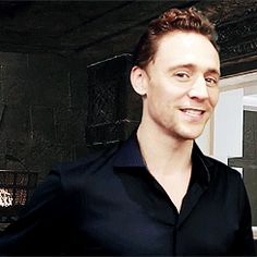 Tom Hiddleston Seriously. Stop being so adorable!!! (gif worth clicking)