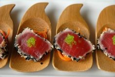 Black Sesame Tuna with Soy & Ginger Vinaigrette : New Orleans Fine Dining Recipes : Located in City Park : Ralph's on the Park Restaurant by...