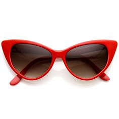 - Description - Measurements - Shipping - A distinct mod version of 50s-inspired cat eye sunglasses with high pointed corners. You'll find they can work with many outfits, from the very modern to the