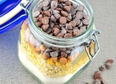 Chocolate Peanut Butter Oatmeal Cookies Gift Mix