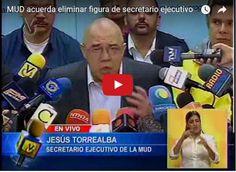 Esta es la nueva dirigencia de la MUD - Chúo queda fuera  http://www.facebook.com/pages/p/584631925064466