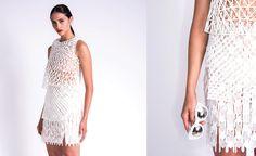 Danit Peleg- 3D printed top, skirt and sunglasses