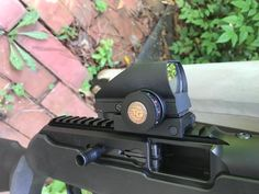 TruGlo optical sight on Ruger PC9.