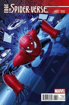 Spider-Man °° Edge of Spider-Verse #3 Greg Land Variant