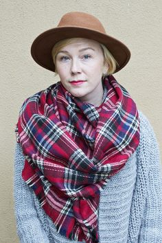 One of our best selling items Miller Plaid Scarf grab one for yourself or as a gift for someone special.