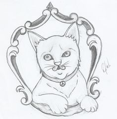 Gato, Cat, Tattoo Idea