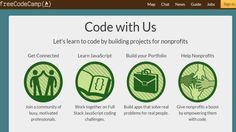 Learn to Code for Free While Building Apps for Nonprofits