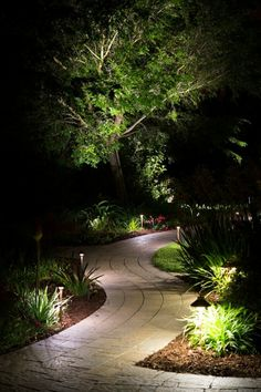 10 outdoor lighting ideas for your garden landscape 5 is really cute walkways create and. Black Bedroom Furniture Sets. Home Design Ideas