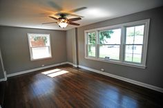 living room ideas with hardwood floors - If the floor color is darker like this