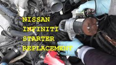 http://www.strictlyforeign.biz/default.asp Nissan Maxima / Infiniti Starter Replacement with Basic Hand Tools HD