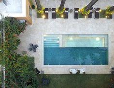 Backyard Pool Designs, Small Backyard Pools, Swimming Pools Backyard, Swimming Pool Designs, Pool Landscaping, Outdoor Pool, Pool Steps, Small Pool Design, Modern Pools