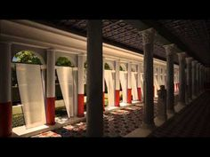 The Digital Hadrian's Villa Project: State vs. Reconstruction - YouTube