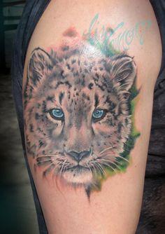 1000 images about leopard tattoos on pinterest leopard tattoos snow leopard tattoo and leopards. Black Bedroom Furniture Sets. Home Design Ideas