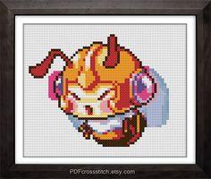 0141Bee  PDF Cross Stitch pattern  Buy 1 Get 1 by PDFcrossstitch, $6.00