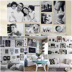 Galeria zdjęć na ścianie - jak i gdzie?