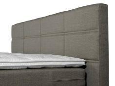 Optisleep Boxspring 5000 Hoofdbord geblokt detailfoto slaapkenner theo bot zwaag hoorn