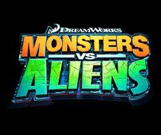 Monsters vs Aliens | Logo | TEN30 Studios