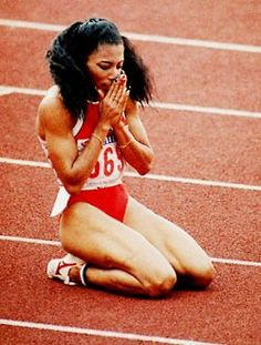 """Florence """"Flo-Jo"""" Griffith - Joyner : fastest woman of all time"""