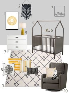 My Modern Nursery #120: The House in the Night Inspiration Sponsored by Lullaby Paints