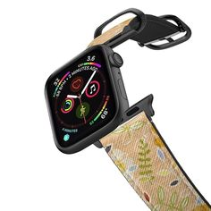 Buy The meadows / petit floral on black Apple Watch Band Space Gray Saffiano Watchband by Marta Olga Klara at CASETiFY. Macbook Pro Retina, Macbook Air, Iphone 6 S Plus, New Iphone, Iphone Cases, Iphone Meme, Iphone Phone, Apple Watch Series 3, Apple Watch 42mm