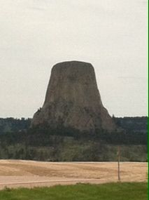 On our way to Devils Tower!!!