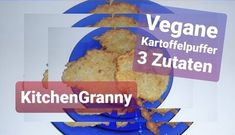 Vegane Kartoffelpuffer - Rezept von Kitchengranny Bread, Food, Pepper Spice, Vegan Snacks, 3 Ingredients, Meal, Brot, Eten, Breads