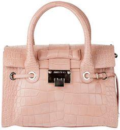 Jimmy Choo Rosalie S Mock Croc Bag